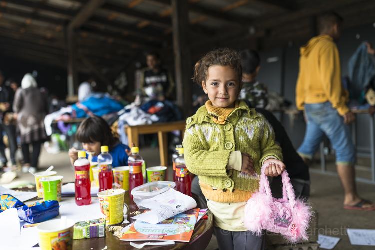 Belgrade refugees aid